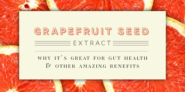 Grapefruit seed extract for SIBO