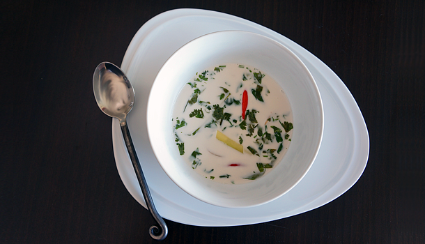 Thai Lemongrass & Coconut Soup