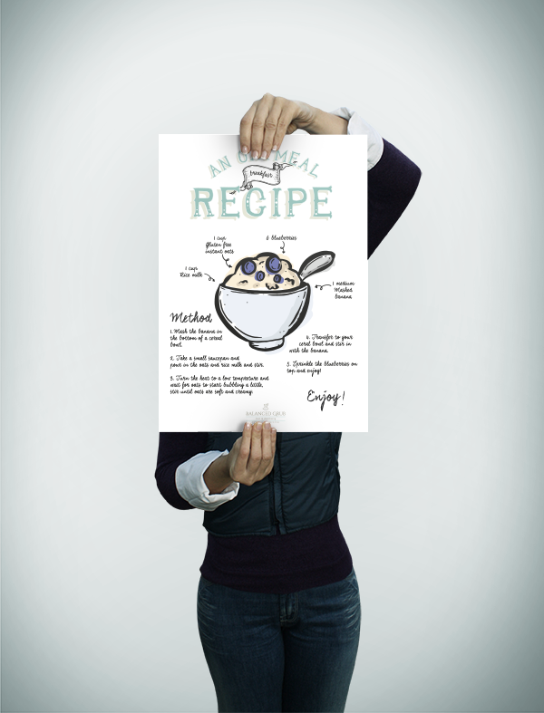 Oatmeal Recipe-promotional view