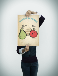 apples & pears poster-preview