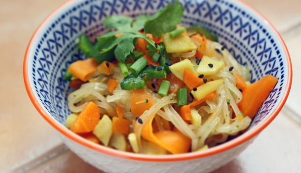 low FODMAP 5 spice noodles