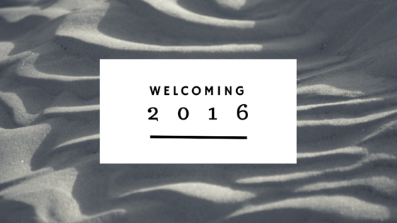 Welcoming 2016