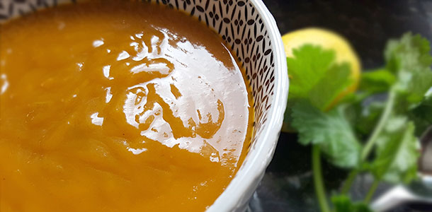 low fodmap pumpkin soup